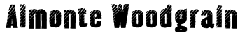 Almonte Woodgrain Font