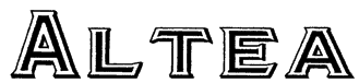 Altea Font