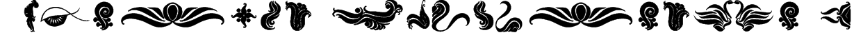 Absinth Flourishes I Font