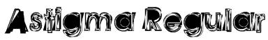Astigma Regular Font