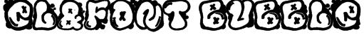 El&Font Bubble Font