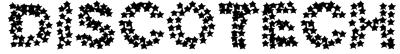 discotech Font