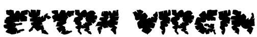 Extra virgin Font