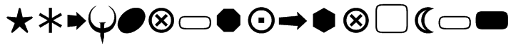 F&T_BasicShapes1 Font