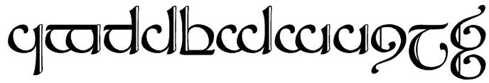 Tengwar Sindarin 2 Font