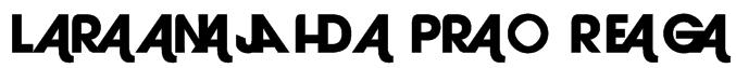 Laranjha Pro Reg Font