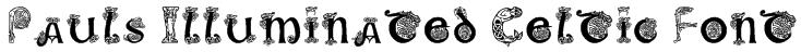 Pauls Illuminated Celtic Font Font