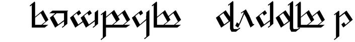 Tengwar Noldor 1 Font
