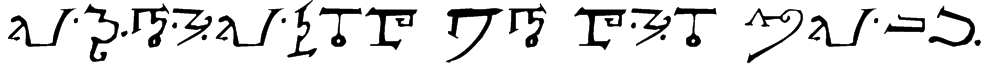 Alphabet of the Magi Font