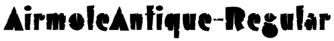 AirmoleAntique-Regular Font