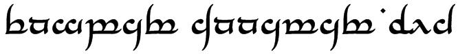 Tengwar Annatar Bold Font