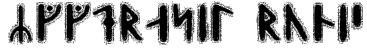 Yggdrasil Runic Font