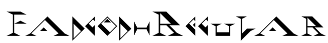 Fadgod-Regular Font