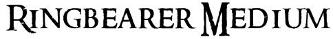 Ringbearer Medium Font