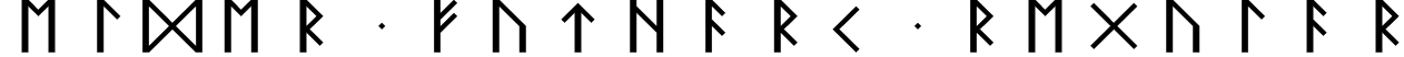 Elder Futhark Regular Font