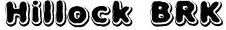 Hillock BRK Font