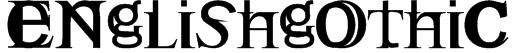 Englishgothic Font