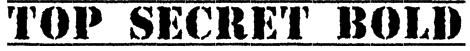 Top Secret Bold Font