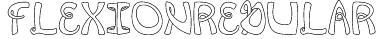 FlexionRegular Font