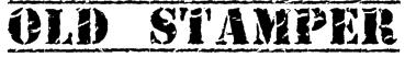 Old Stamper Font