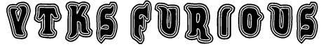VTKS FURIOUS Font