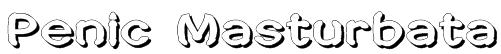 Penic Masturbata Font