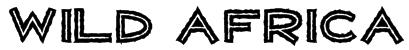 WILD AFRICA Font