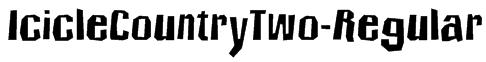 IcicleCountryTwo-Regular Font
