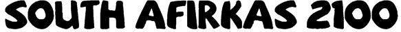 sOuTh Afirkas 2100 Font