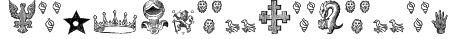 HeraldicDevices Font