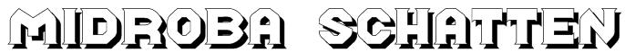 Midroba Schatten Font