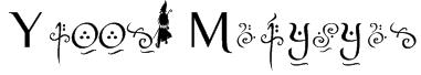 Yellow Magician Font