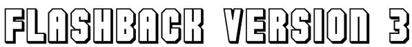Flashback version 3 Font
