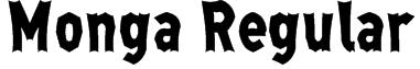 Monga Regular Font