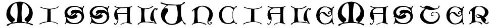MissalUncialeMaster Font