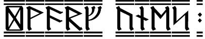 Dwarf Runes 2 Font