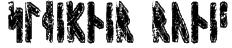 Sleipnir Runic Font