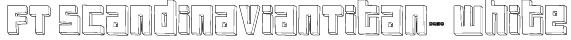 FT ScandinavianTitan2 White Font
