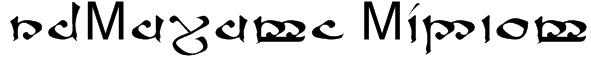 RSMoroma Medium Font