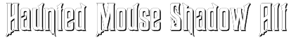 Haunted Mouse Shadow Alt Font
