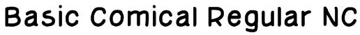 Basic Comical Regular NC Font