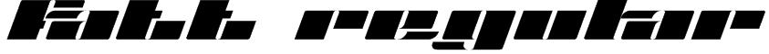 Fatt Regular Font