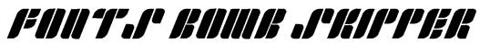 Fonts Bomb Skipper Font