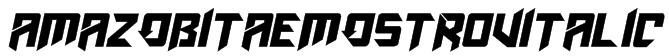 AmazObitaemOstrovItalic Font