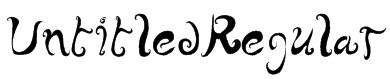 UntitledRegular Font