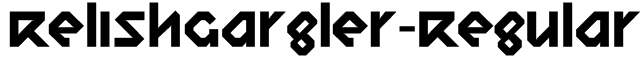 RelishGargler-Regular Font