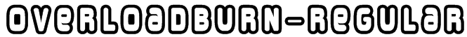 OverloadBurn-Regular Font