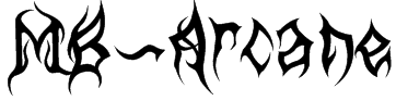 MB-Arcane Font