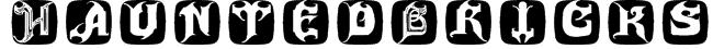 HauntedBricks Font