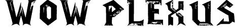WoW-plexus Font